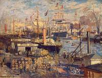 Grand Quai at Havre, 1872