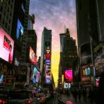 """""""Sunset Over Times Square"""" by klingon65"""