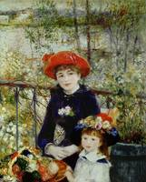 Two Sisters, or On The Terrace, 1881