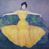 Lady in a Yellow Dress, 1899