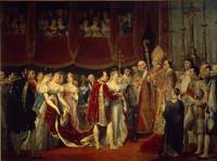 The marriage ceremony of Napoleon I and Archduches