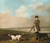 Sir John Nelthorpe, 6th Baronet out Shooting with