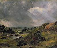 Hampstead Heath, Branch Hill Pond, 1828