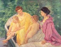 The Swim, or Two Mothers and Their Children on a B
