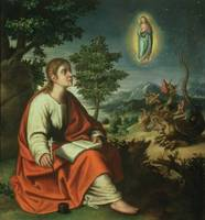 The Vision of St. John the Evangelist on Patmos