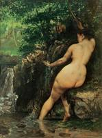 The Source or Bather at the Source, 1868