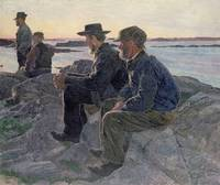On the Rocks at Fiskebackskil, 1905 6
