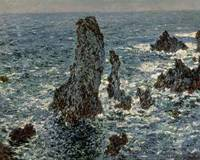 The Rocks at Belle Ile, 1886