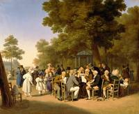 Politicians in the Tuileries Gardens, 1832