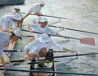 Securing Oars, Henley
