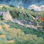 """Cottages at Auvers sur Oise, 1890"" by fineartmasters"
