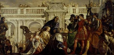 Family of Darius before Alexander the Great