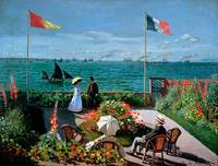 The Terrace at Sainte Adresse, 1867