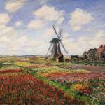 """Tulip Fields with the Rijnsburg Windmill, 1886"" by fineartmasters"