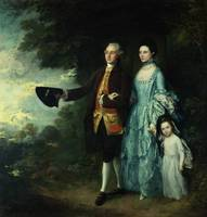 Mr. and Mrs. George Byam and their eldest daughter