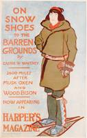 Advertisement for On Snow Shoes to the Barren Grou
