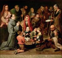 St. Diego of Alcala Giving Food to the Poor, 1645-