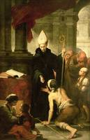 St. Thomas of Villanueva Distributing Alms, 1678