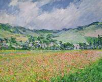 The Poppy Field near Giverny, 1885