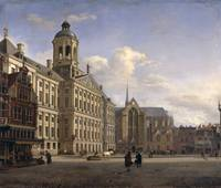 The New Town Hall, Amsterdam, 1668