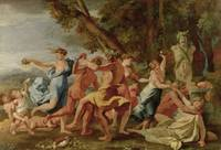 Bacchanal before a Herm, c.1634