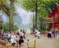 The Chalet du Cycle in the Bois de Boulogne, c.190