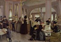 La Patisserie Gloppe, Champs Elysees, Paris, 1889