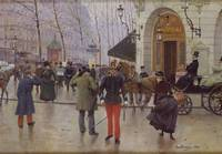 The Boulevard des Capucines and the Vaudeville The