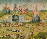 The Garden of Earthly Delights: Allegory of Luxury