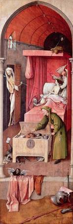 Death and the Miser, c.1485-90