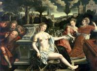 Susanna and the Elders, 1567