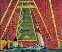 Set Design for 'Thamar', 1912