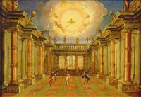 Act II, scene X: the courtyard of the King of Naxo