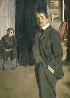 Portrait of Sergei Pavlovich Diaghilev