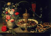 Still Life of Flowers and Dried Fruit, 1611