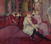 In the Salon at the Rue des Moulins, 1894
