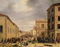 The Battle of 21st March 1849 in the Piazzetta San
