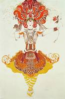 Ballet Costume for 'The Firebird', by Stravinsky