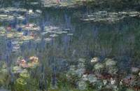 Waterlilies: Green Reflections, 1914 18