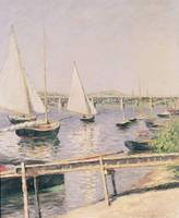 Sailing boats at Argenteuil, c.1888