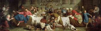 Dinner at the House of Simon, 1737