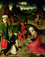 Gathering of the Manna, from the Altarpiece of the