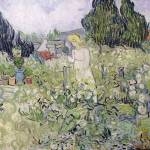 """Mademoiselle Gachet in her garden at Auvers sur Oi"" by fineartmasters"