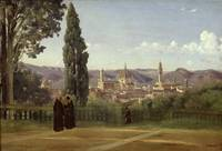 View of Florence from the Boboli Gardens, c.1834-3