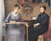At Home or Intimacy, 1885