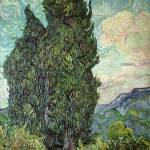 """Cypresses, 1889"" by fineartmasters"