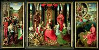 Triptych of St. John the Baptist and St. John the