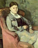 The Artists Wife in an Armchair, c.1867