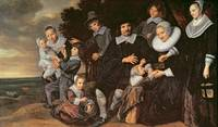 Family Group in a Landscape, c.1647-50