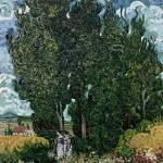 """The cypresses, c.1889 90"" by fineartmasters"